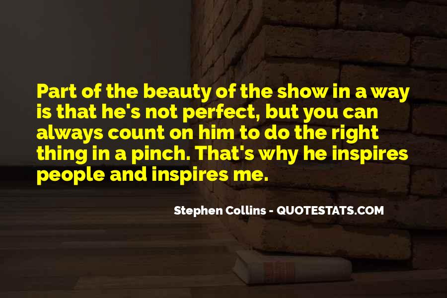 He Is Not Perfect Quotes #52719
