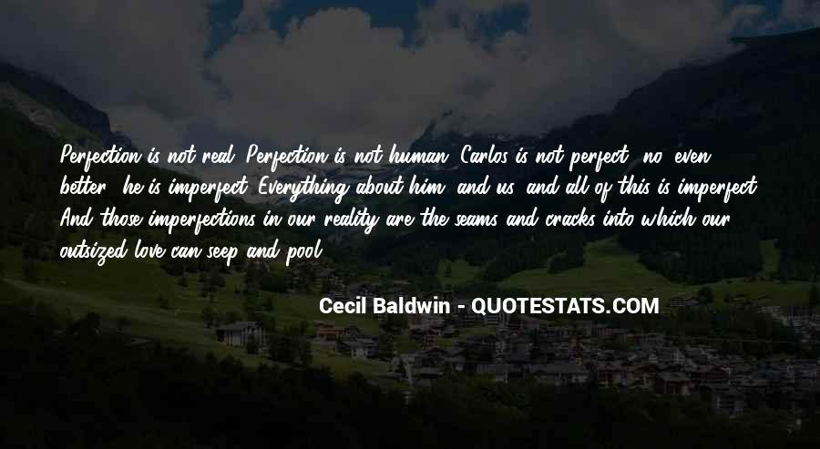 He Is Not Perfect Quotes #792418
