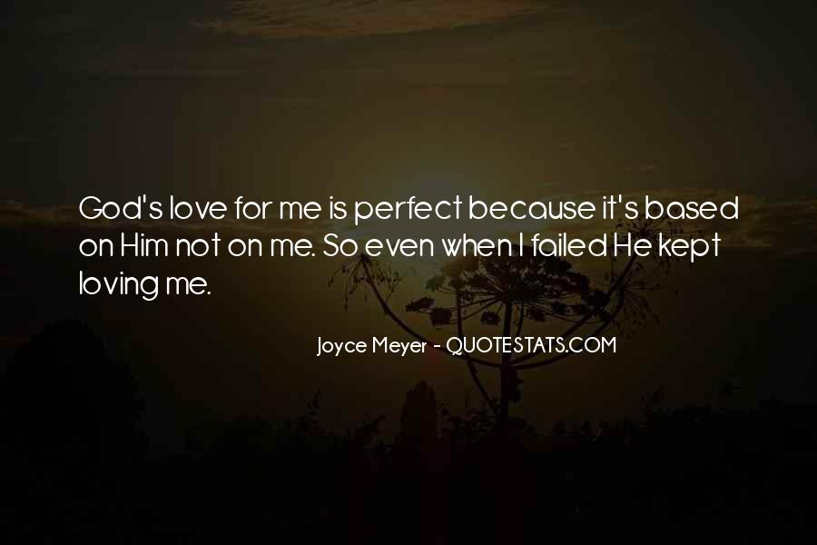 He Is Perfect For Me Quotes #348736