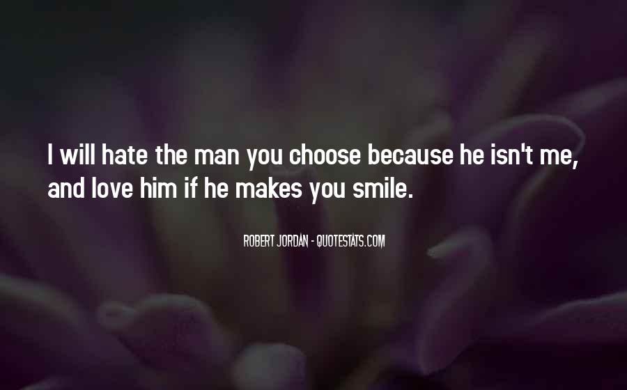 He Makes Her Smile Quotes #153939