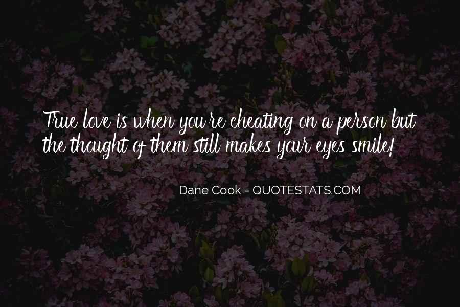 He Makes Her Smile Quotes #73295