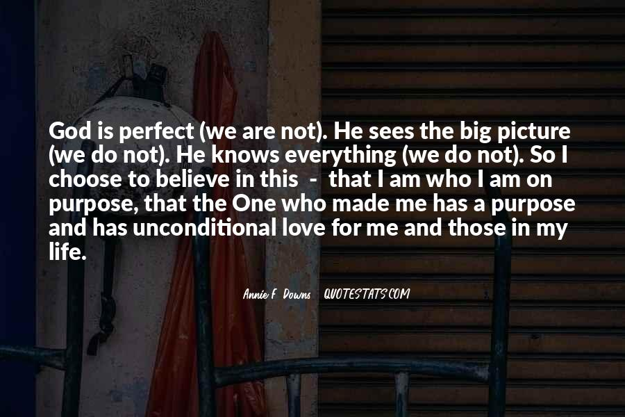 He Perfect For Me Quotes #1493882