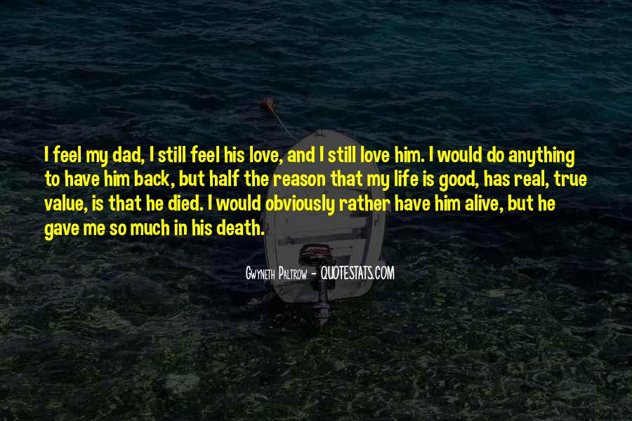 He Still Love Me Quotes #1555595