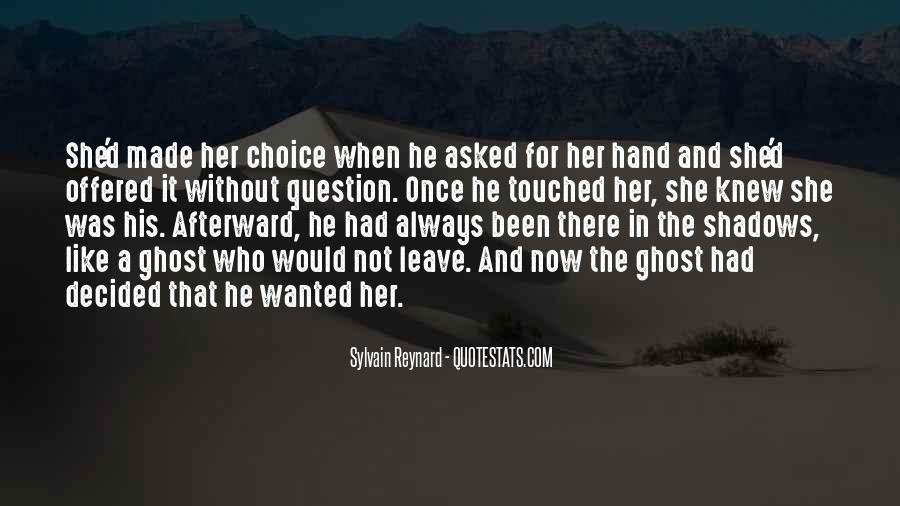 He Wanted Her Quotes #113563