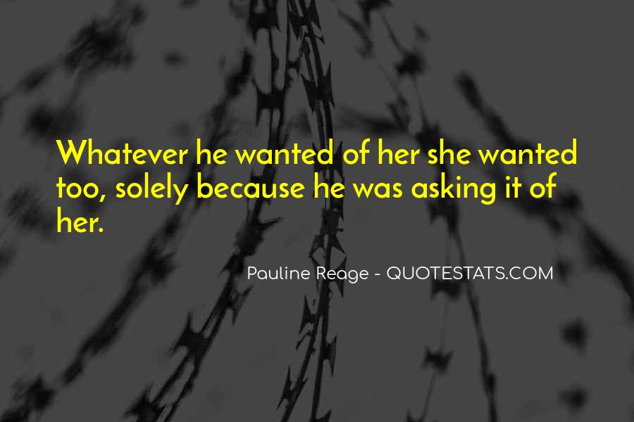 He Wanted Her Quotes #227658