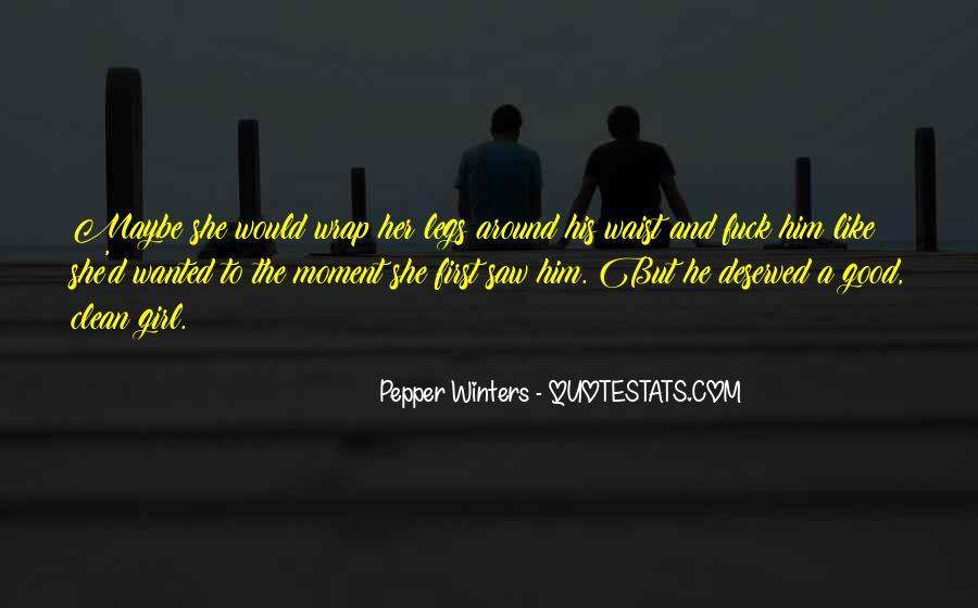 He Wanted Her Quotes #60928