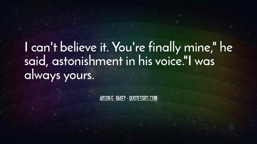 He Was Always Mine Quotes #498104