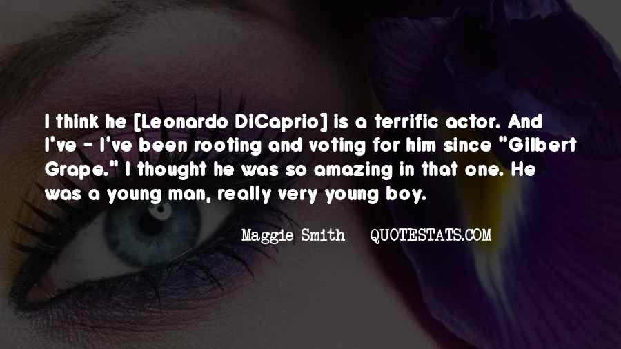 He Was Amazing Quotes #314711