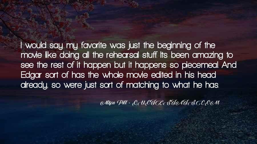 He Was Amazing Quotes #35871