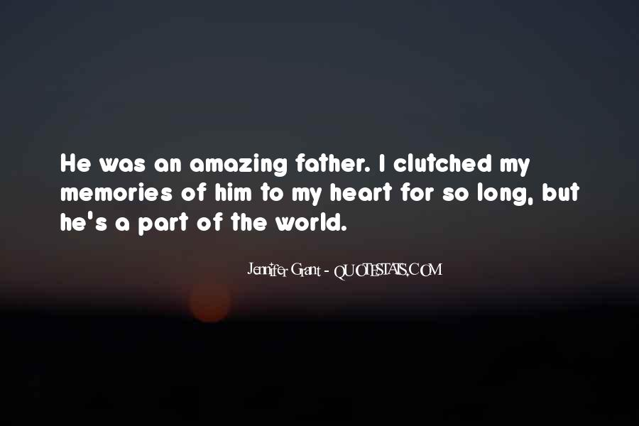 He Was Amazing Quotes #401733