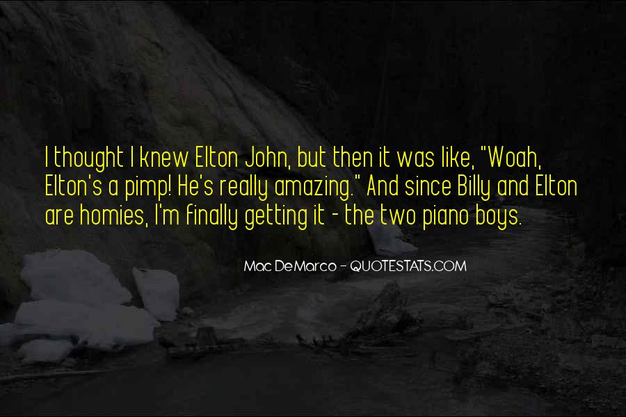 He Was Amazing Quotes #56212