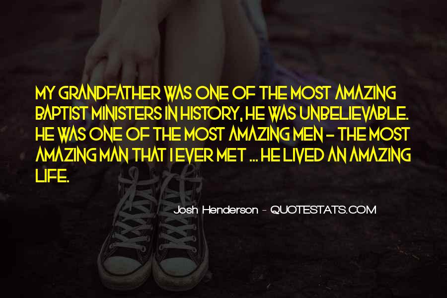 He Was Amazing Quotes #721102