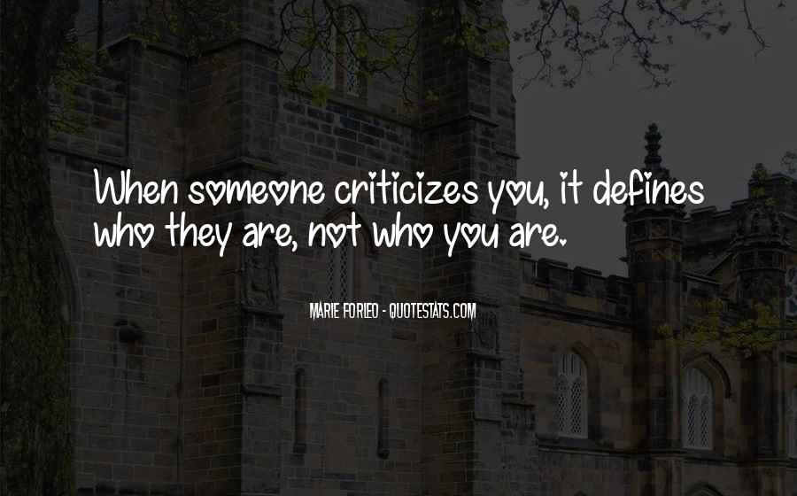 He Who Criticizes Quotes #692000
