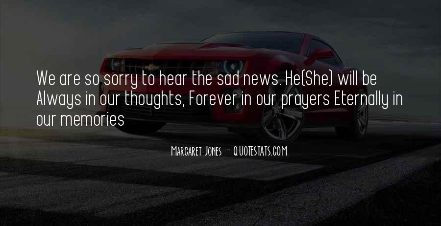 He Will Be Sorry Quotes #62467