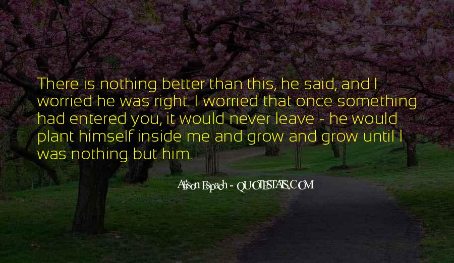 He'll Never Love You Quotes #269310