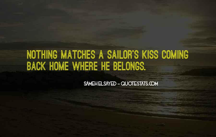 He's Coming Back Quotes #1151213