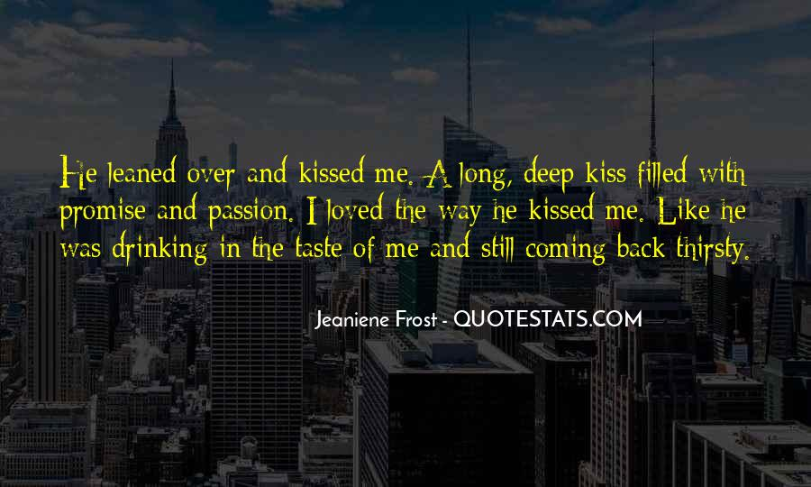 He's Coming Back Quotes #792533