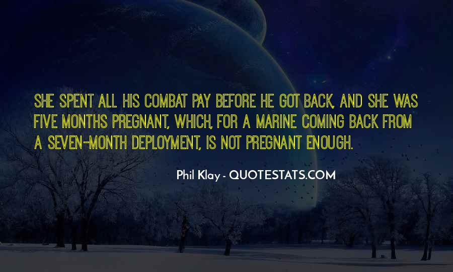 He's Coming Back Quotes #796761