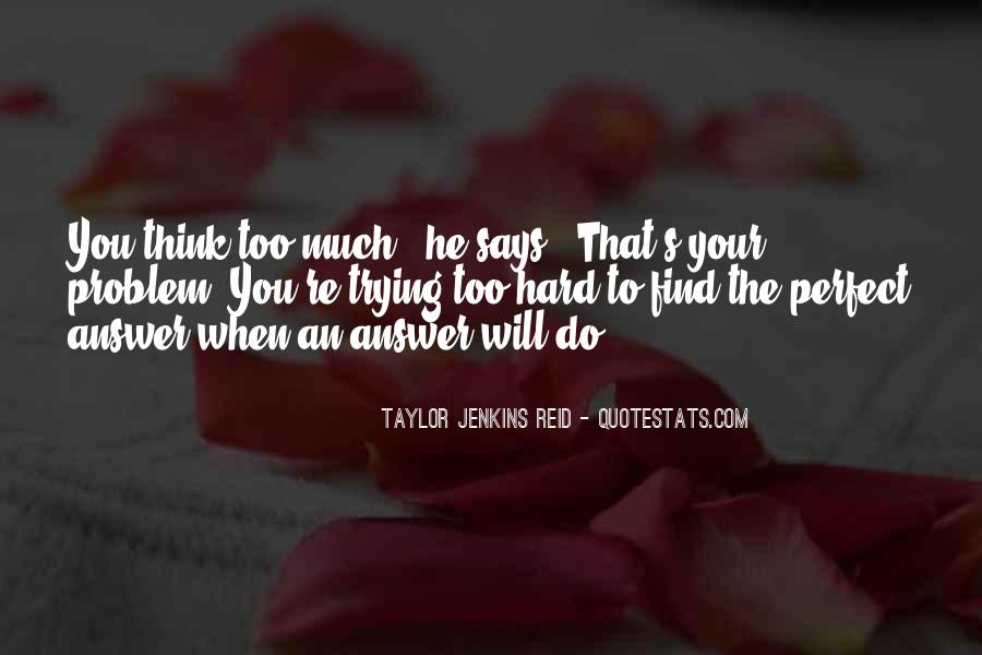 He's Too Perfect Quotes #1121379