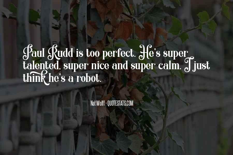 He's Too Perfect Quotes #1179825