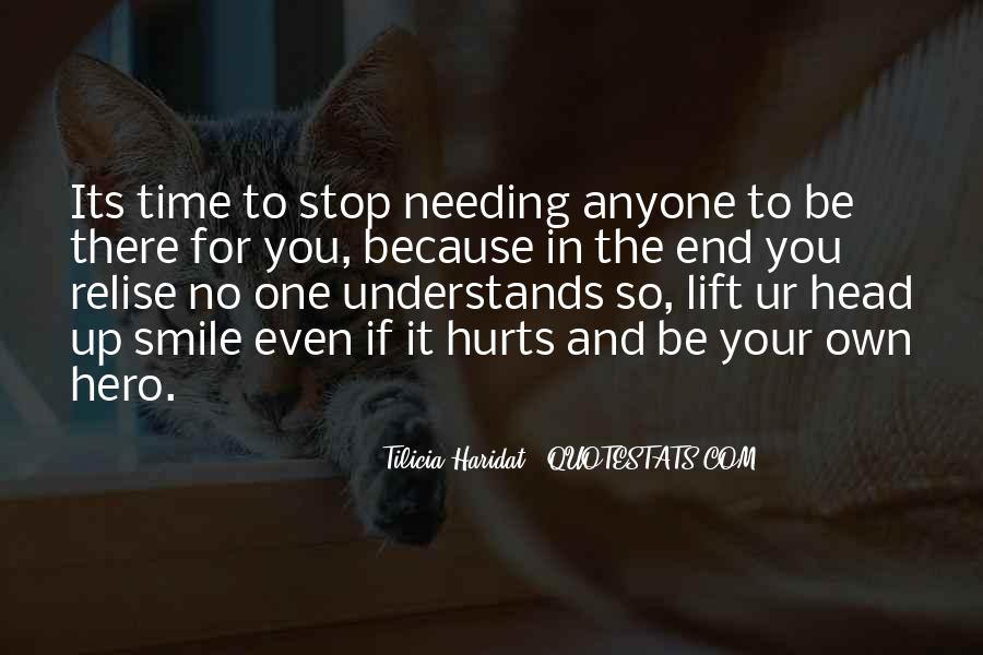 Head Up And Smile Quotes #1465462