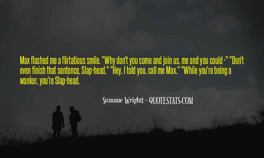 Head Up And Smile Quotes #38679