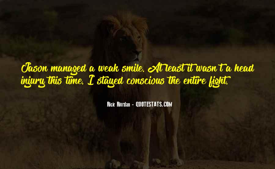 Head Up And Smile Quotes #93999