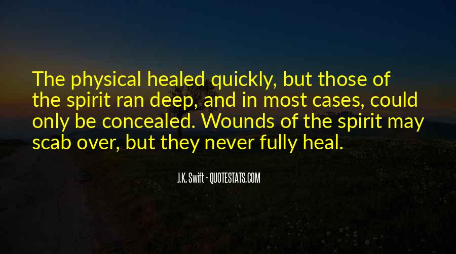 Heal Quickly Quotes #131401