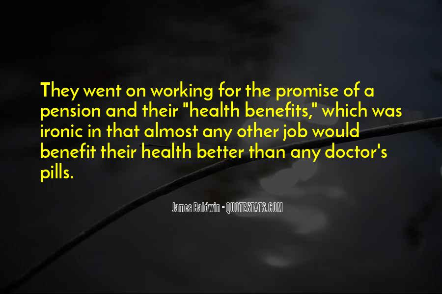 Health Benefit Quotes #1290792
