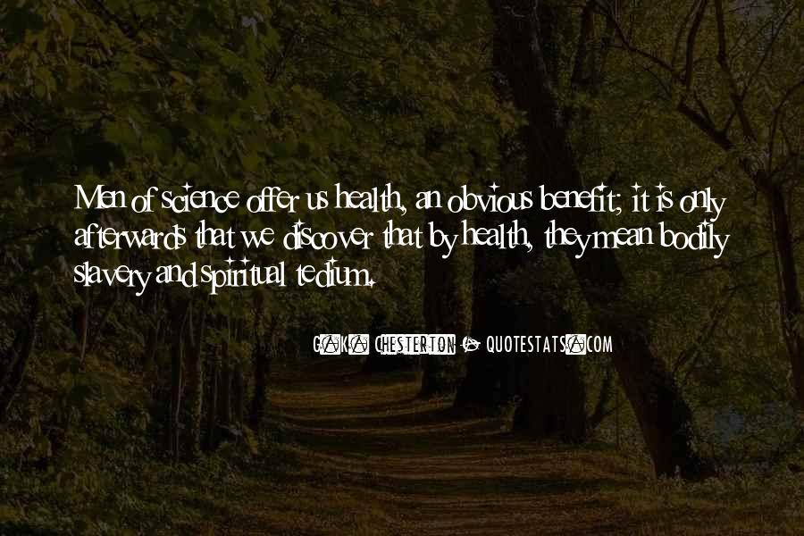 Health Benefit Quotes #157831