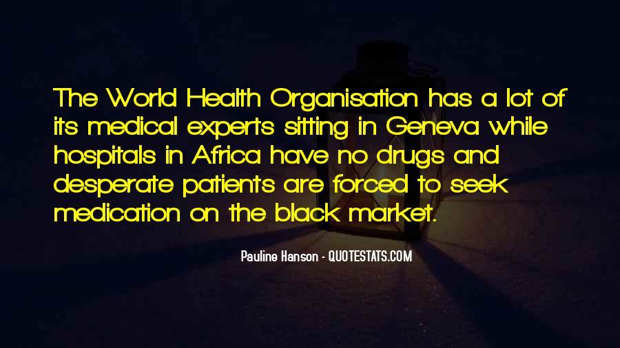 Health Market Quotes #66637