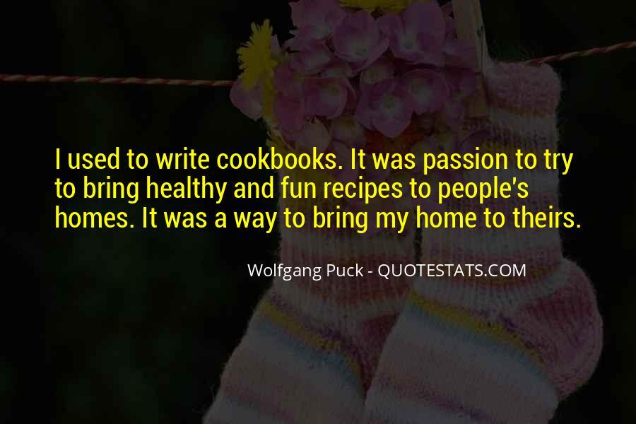 Healthy Recipes Quotes #660226