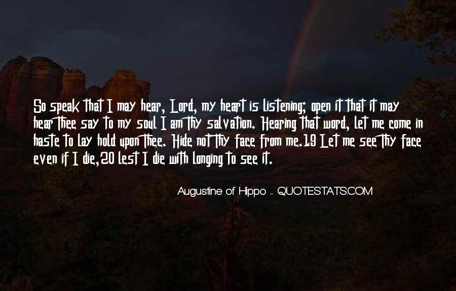 Hear See Speak Quotes #1167782