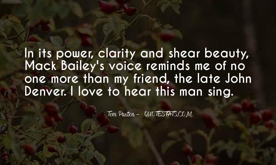 Hear Your Voice Love Quotes #1149928