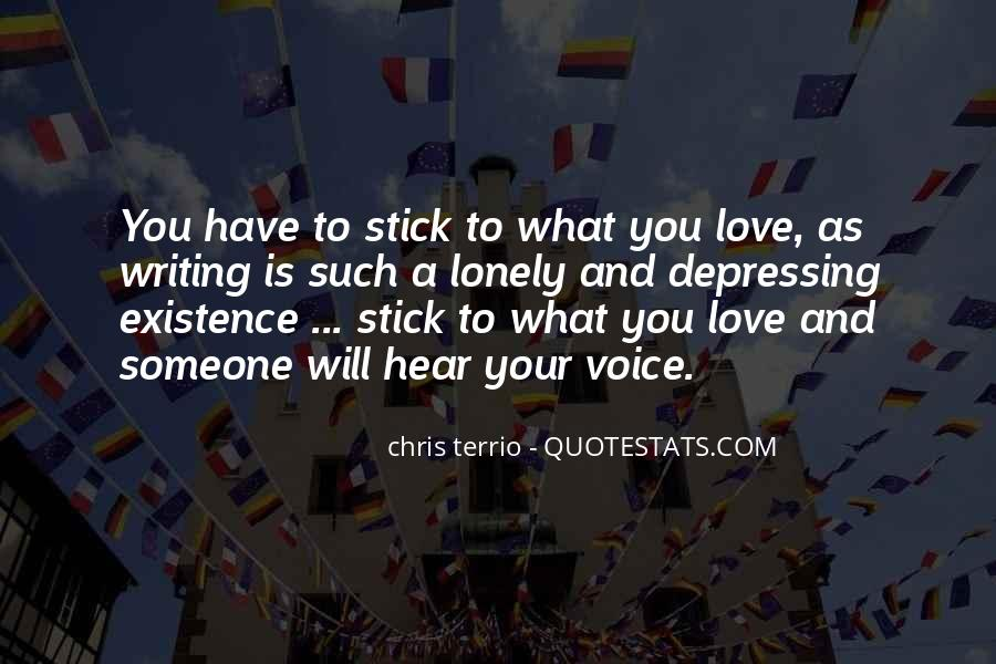 Hear Your Voice Love Quotes #1790092