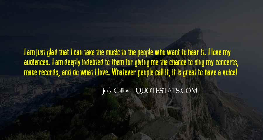 Hear Your Voice Love Quotes #520555