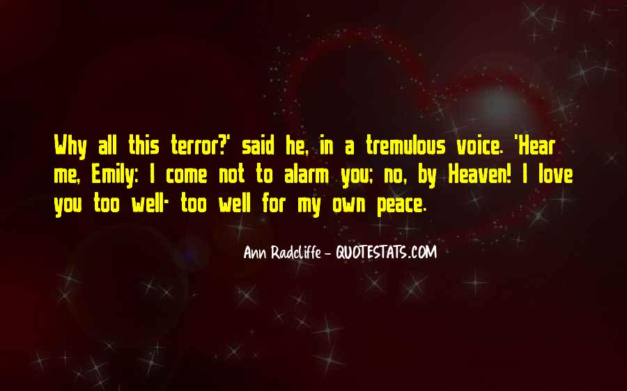 Hear Your Voice Love Quotes #533845