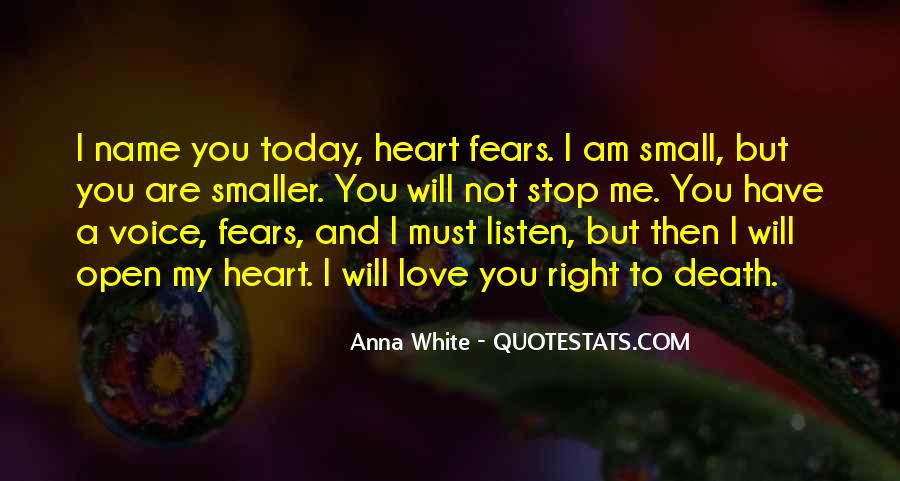 Hear Your Voice Love Quotes #85325