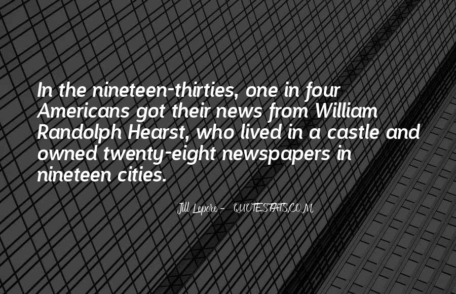 Hearst Quotes #1295117