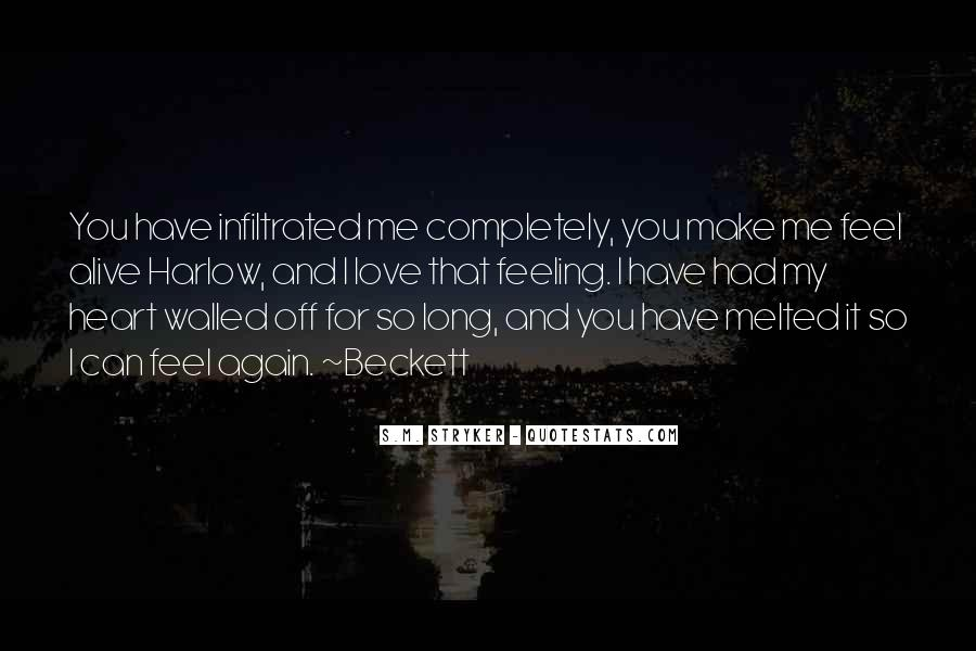 Heart And Feeling Quotes #196267