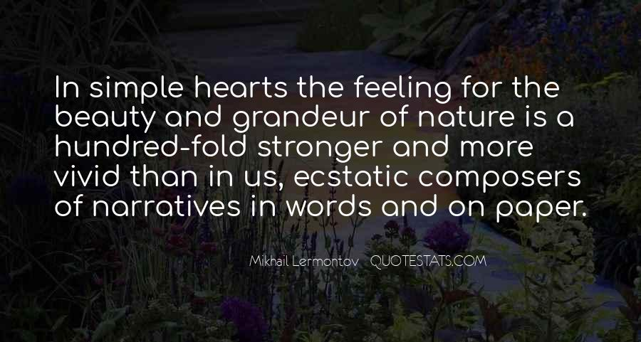 Heart And Feeling Quotes #262725
