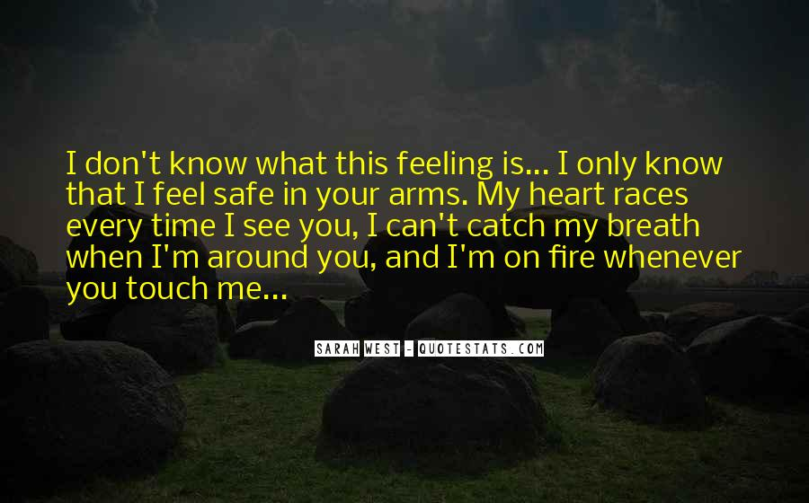 Heart And Feeling Quotes #425522
