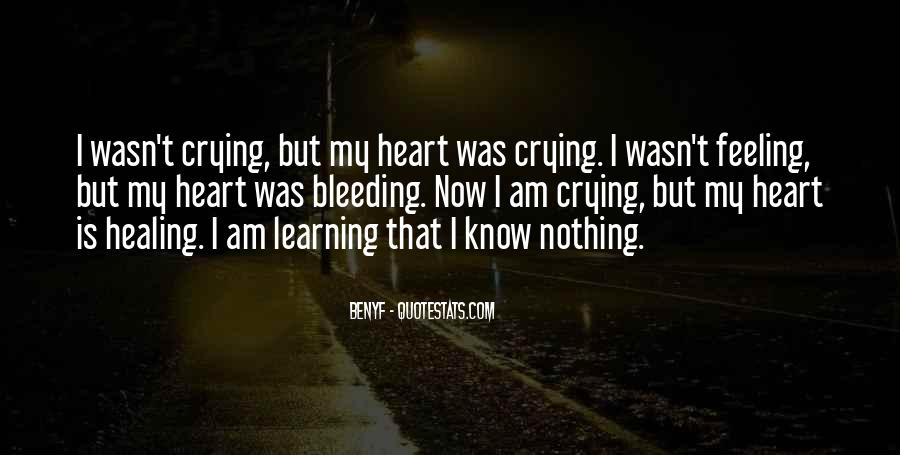 Heart And Feeling Quotes #454927