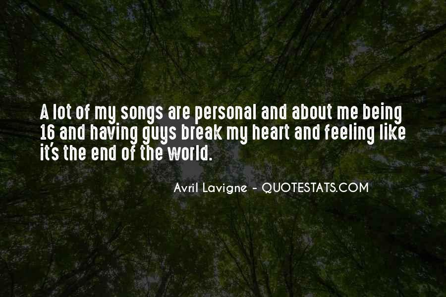 Heart And Feeling Quotes #498265
