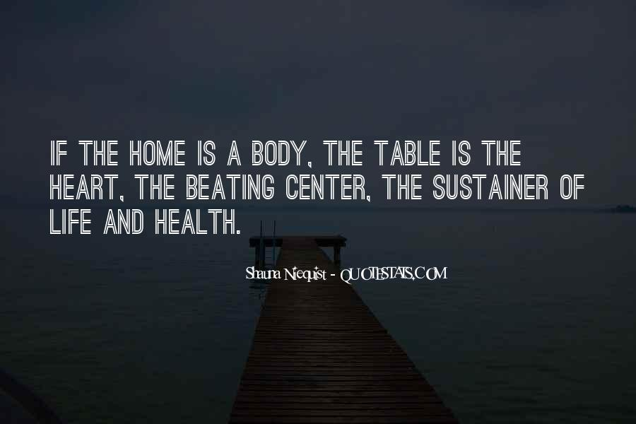 Heart And Health Quotes #1352542