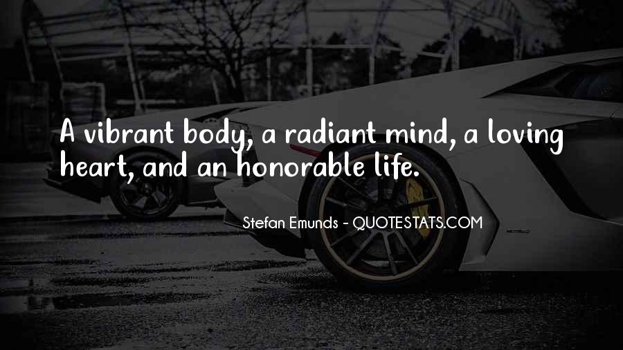 Heart And Health Quotes #1663862