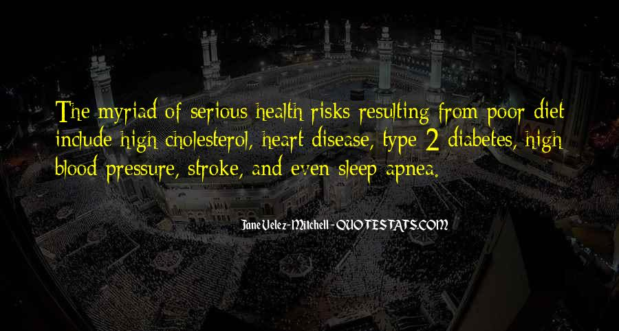 Heart And Health Quotes #1785445