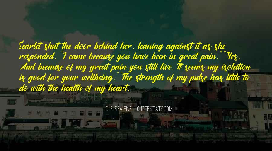 Heart And Health Quotes #1793893