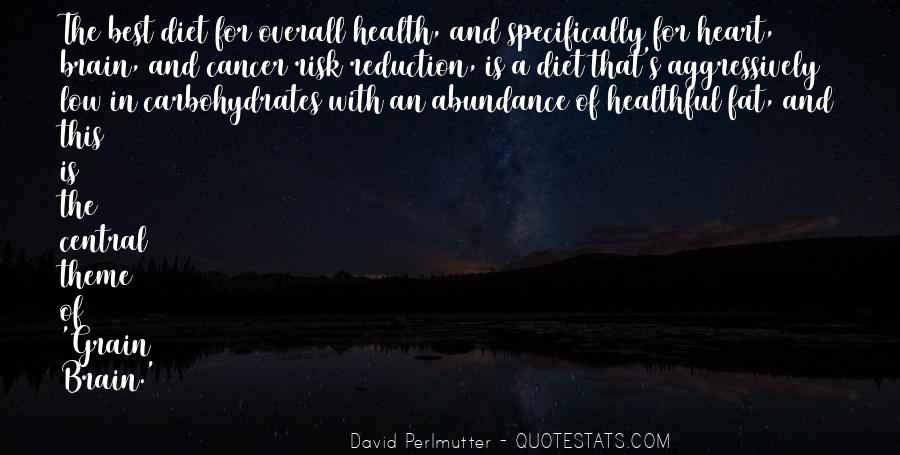 Heart And Health Quotes #1841122