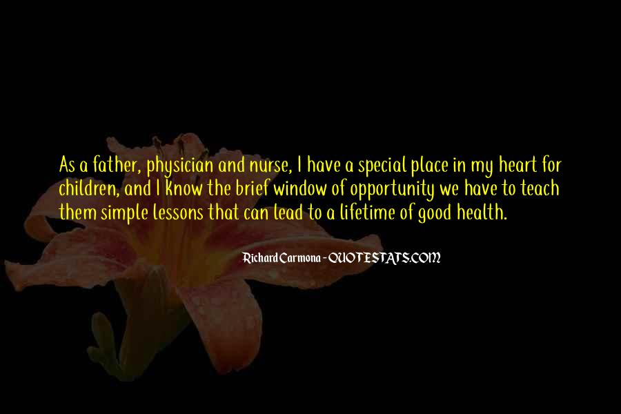 Heart And Health Quotes #227123